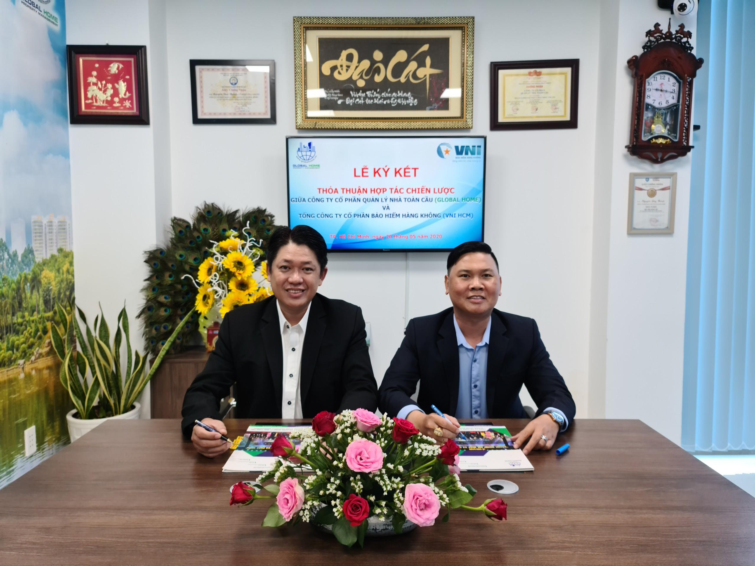 Global Home ký kết thỏa thuận hợp tác chiến lược phân phối bảo hiểm cho cư dân sống tại chung cư 1