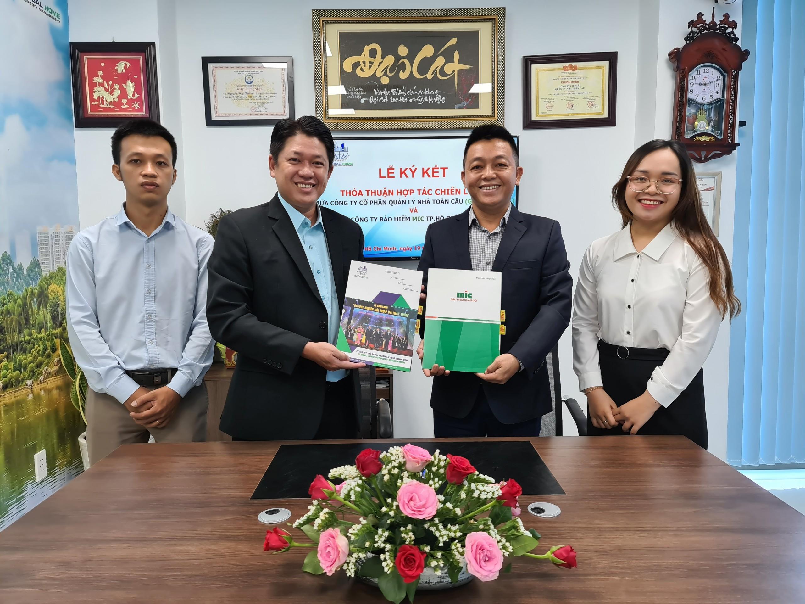 Global Home ký kết thỏa thuận hợp tác chiến lược phân phối bảo hiểm cho cư dân sống tại chung cư 2