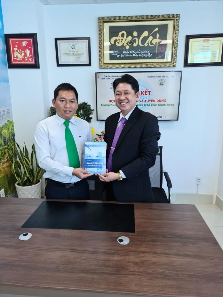 Hợp tác chiến lược giữa Trường Trung cấp Mai Linh với Công ty Quản lý Global Home 3