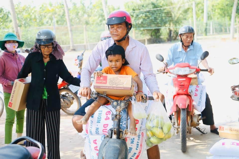 Ấm tình thiện nguyện nơi vùng biên giới Tây Ninh 4
