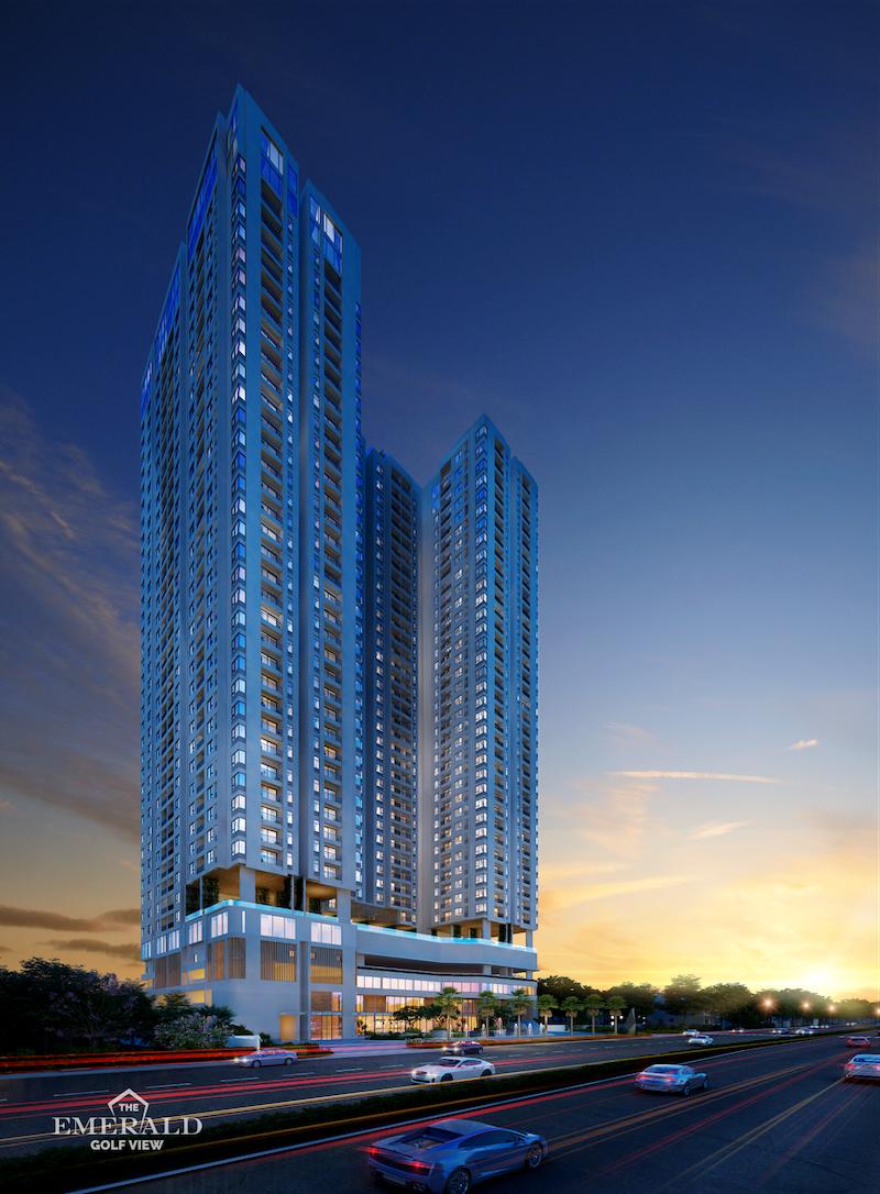 The Emerald Golf View, dự án căn hộ cao cấp đầu tiên của Lê Phong tại Bình Dương 1