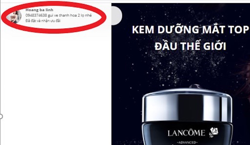 """Lancôme tố hàng loạt Fanpage và website giả mạo bán hàng """"đểu"""" 8"""