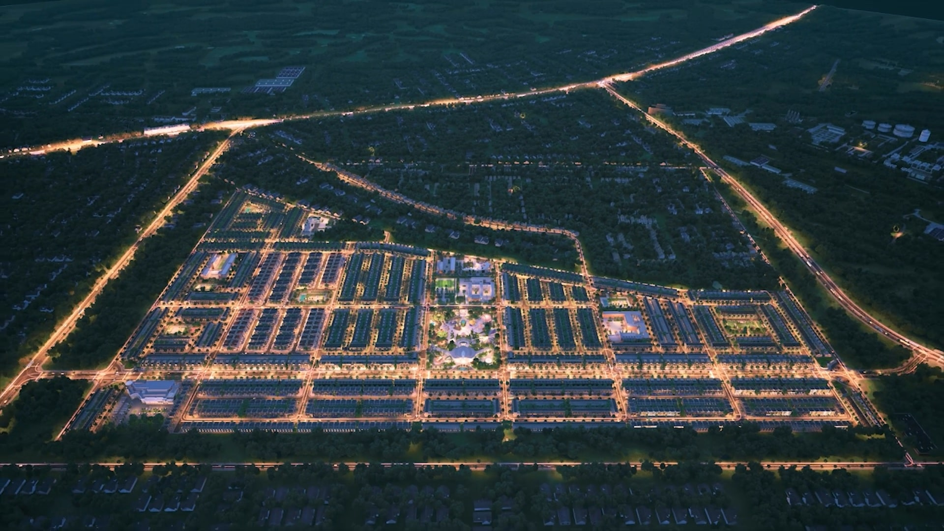 Bất động sản vùng ven nhiều dự án, nhà đầu tư tha hồ lựa chọn 2