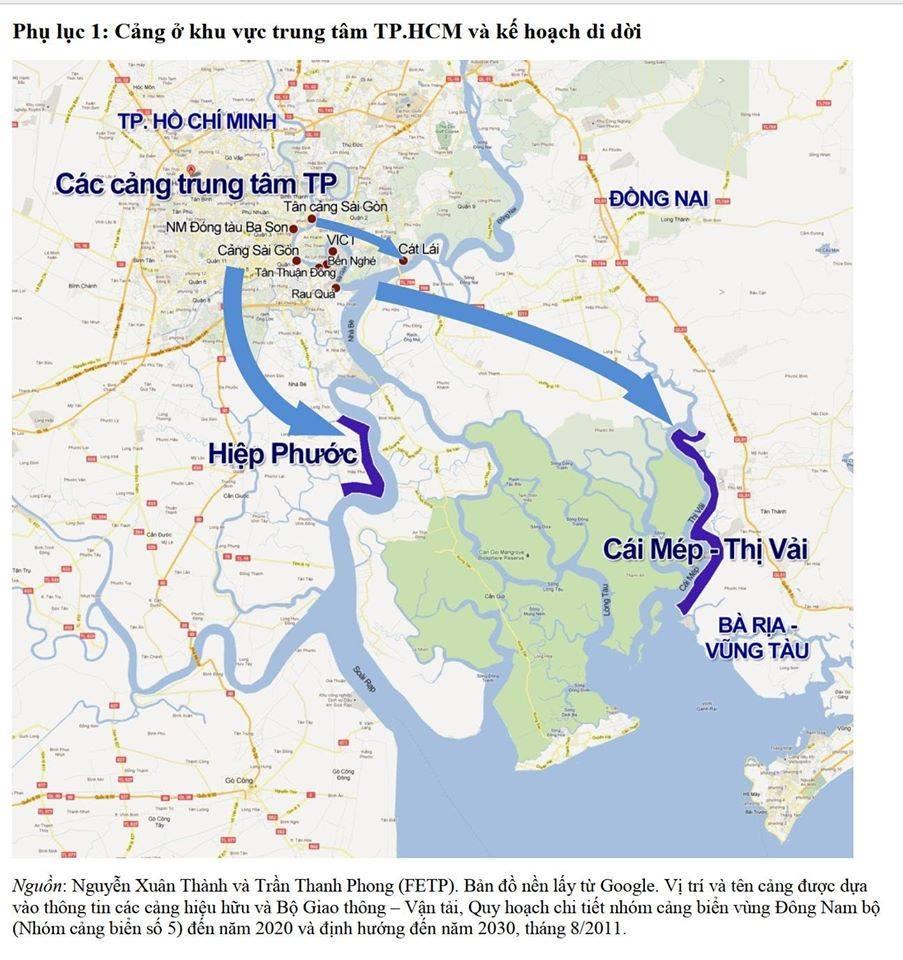 Triển vọng về kinh tế cảng biển tại đô thị Phú Mỹ và tính thực tiễn 3