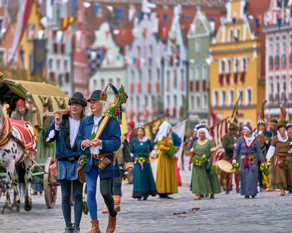 """Landshut - độc đáo với """"lễ hội đám cưới"""" từ thế kỉ 15 4"""