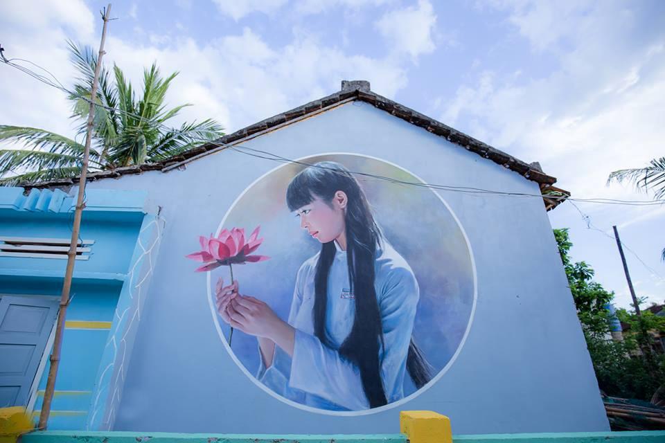Làng bích họa Tam Thanh, vẻ đẹp mê mẫn trong truyện cổ tích 7