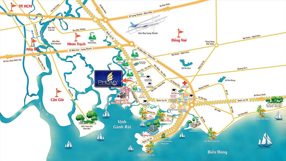 Phú Mỹ trở thành 'tầm ngắm' của giới đầu tư bất động sản 2