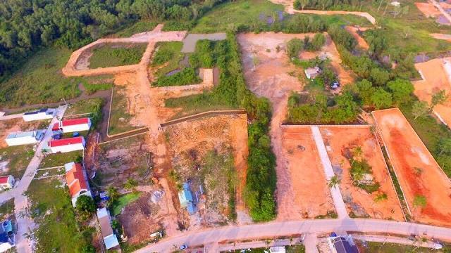 Tiếp tục tạm dừng tách thửa, chuyển mục đích đối với từng loại đất trên địa bàn huyện Phú Quốc. Ảnh: Người Đồng Hành