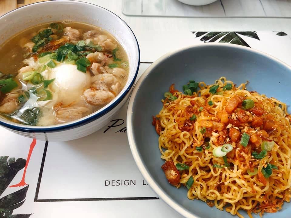 """Vào bếp cùng """"nữ hoàng truyền thông"""" Nguyễn Phạm Khánh Vân: Món ngon từ mì gói 1"""