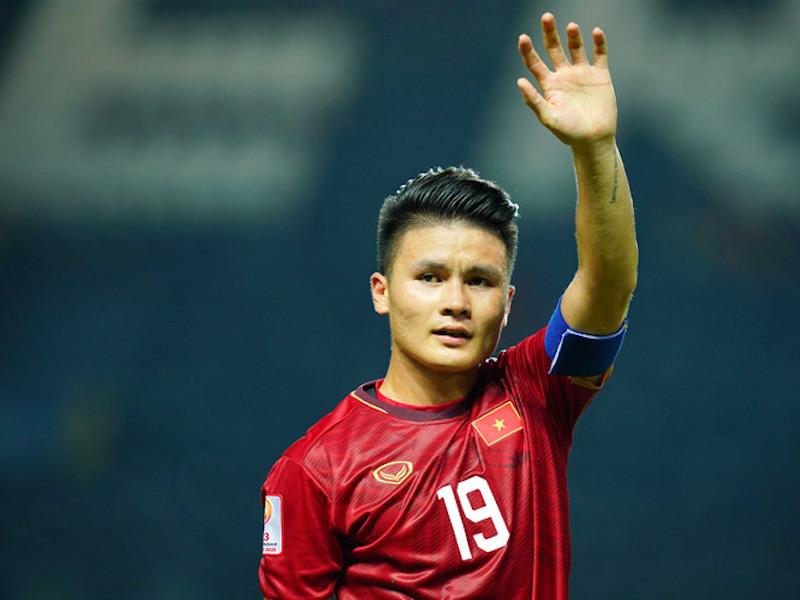 Ngôi sao bóng đá Nguyễn Quang Hải