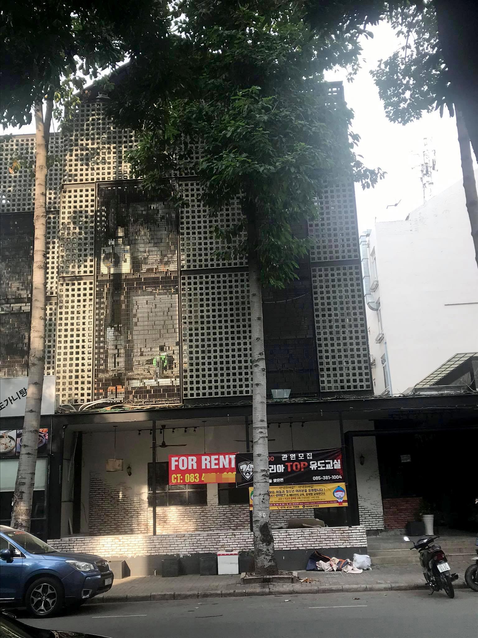 Nhiều mặt bằng bị trả lại ở khu phố người Hàn tại Phú Mỹ Hưng 5