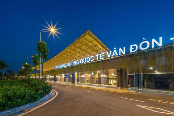 Cảng Hàng không quốc tế Vân Đồn. Ảnh: VietNamNet