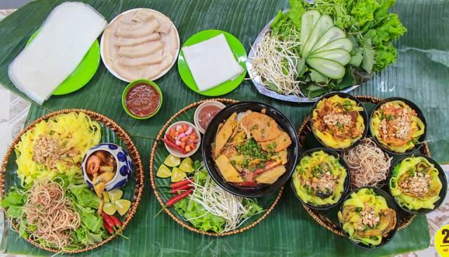 Mì quảng ếch dường như đã trở thành món đặc sản ngon, lạ tại Đà Nẵng.