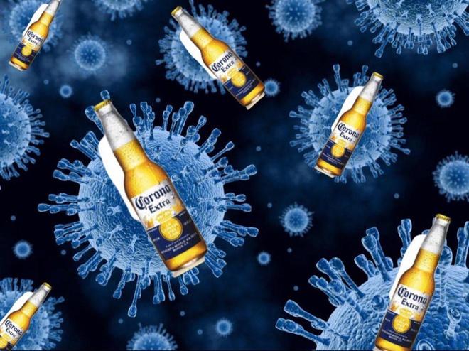 """Cụm từ """"virus trong bia Corona"""" cũng bất ngờ chứng kiến sự gia tăng đột biến về lượt tìm kiếm. Ảnh: Getty Images."""