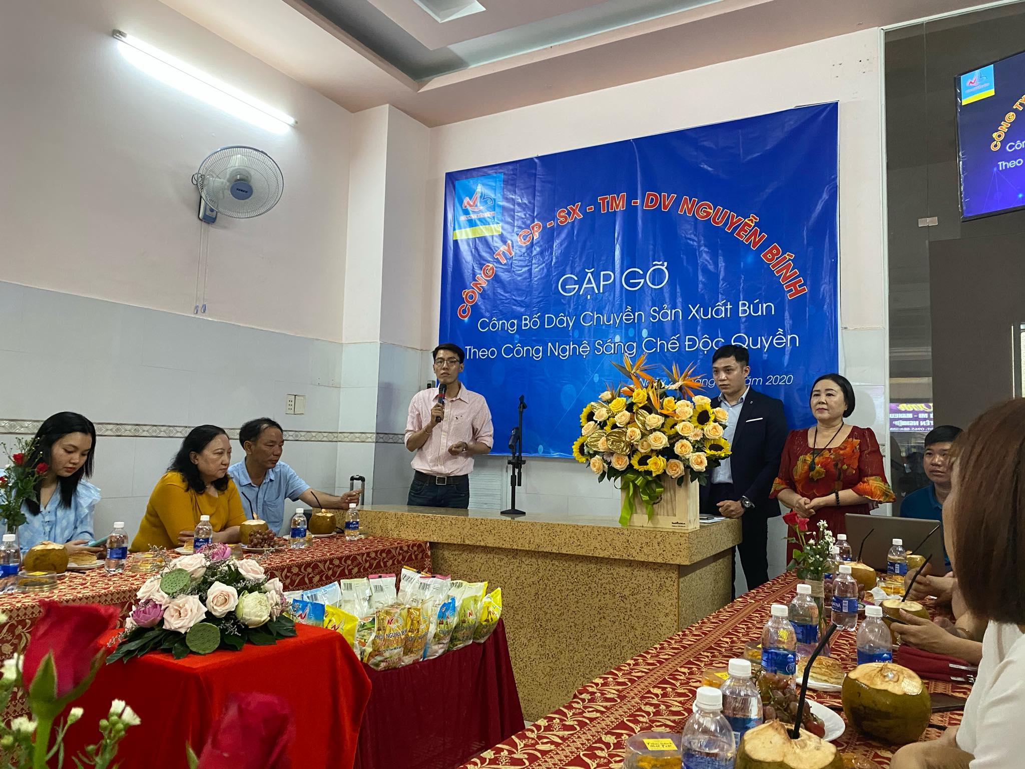 Bún Thủ Đức Nguyễn Bính ra mắt dây chuyền sản xuất mới 3