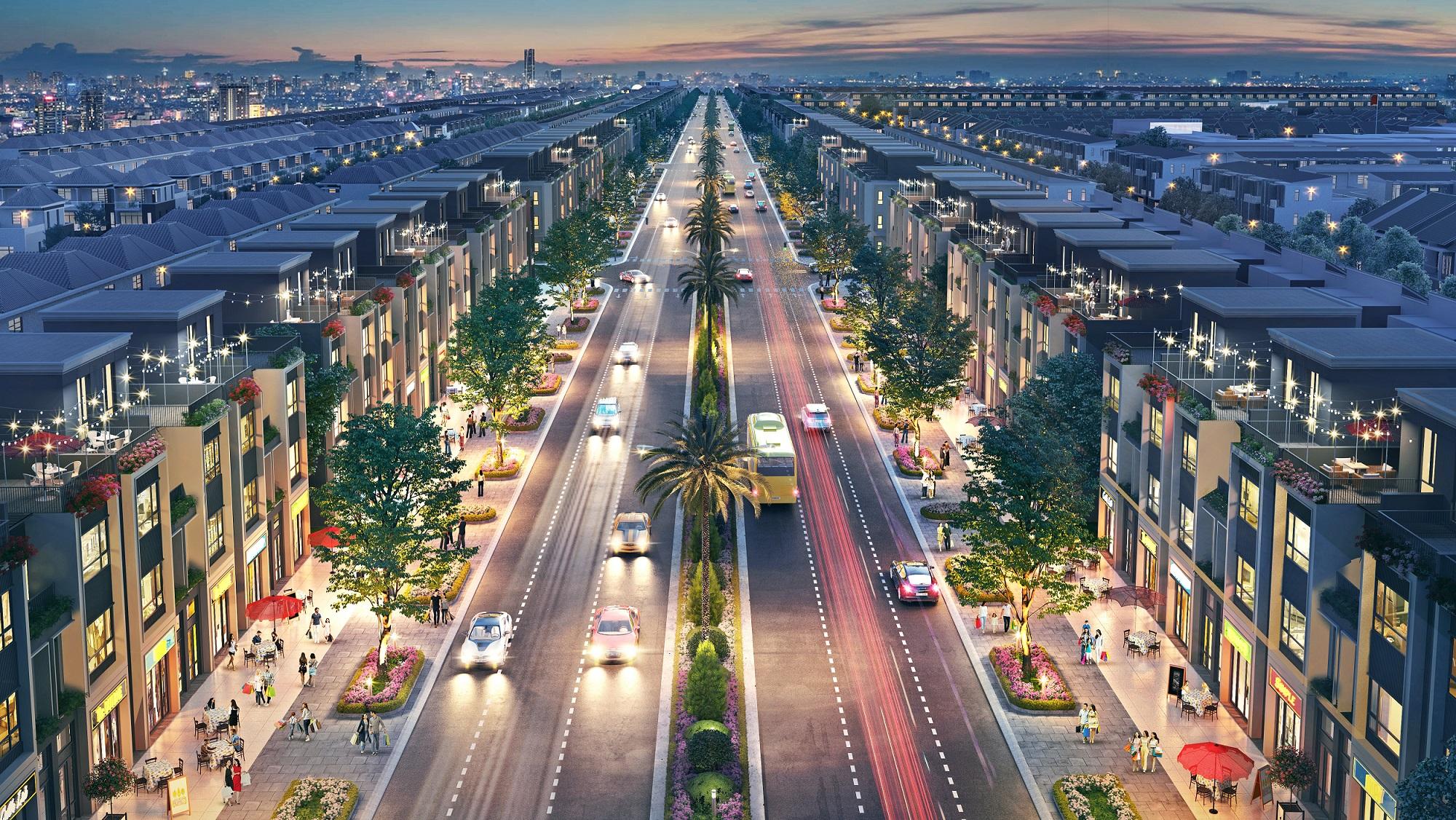 Tiện ích vượt trội, shophouse và nhà phố thương mại Gem Sky World tăng giá trị 3