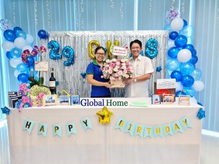 Global Home tổ chức cuộc thi trang trí văn phòng Ban Quản Lý mừng sinh nhật Công ty 5