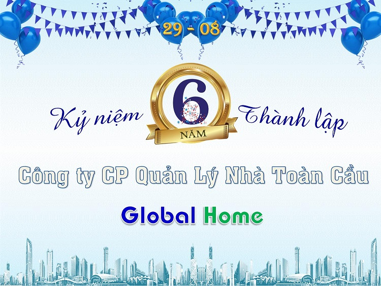 Global Home tổ chức cuộc thi trang trí văn phòng Ban Quản Lý mừng sinh nhật Công ty 1