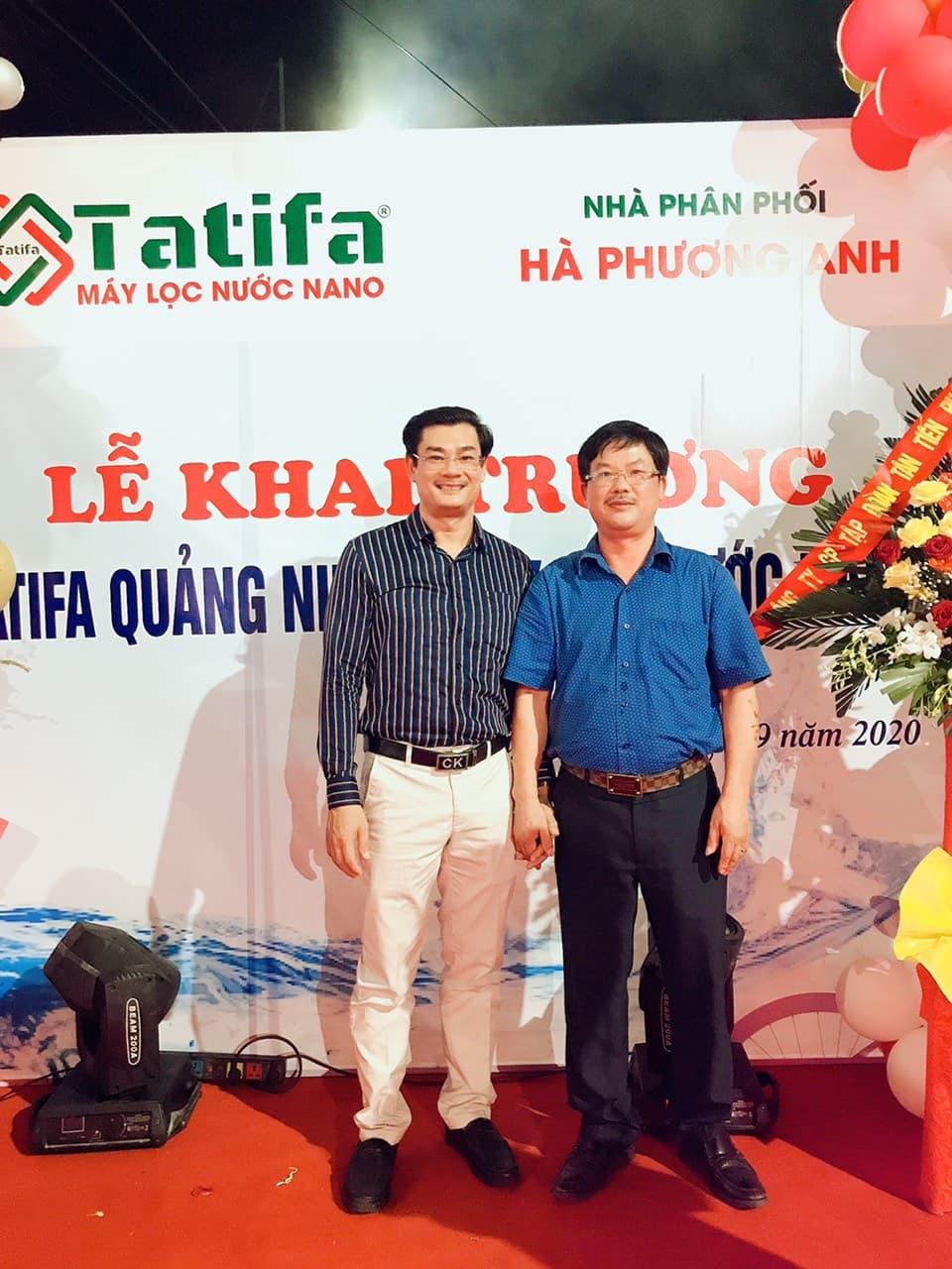 Thương hiệu máy lọc nước Nano Tatifa khai trương nhà phân phối đầu tiên tại phía Bắc 3
