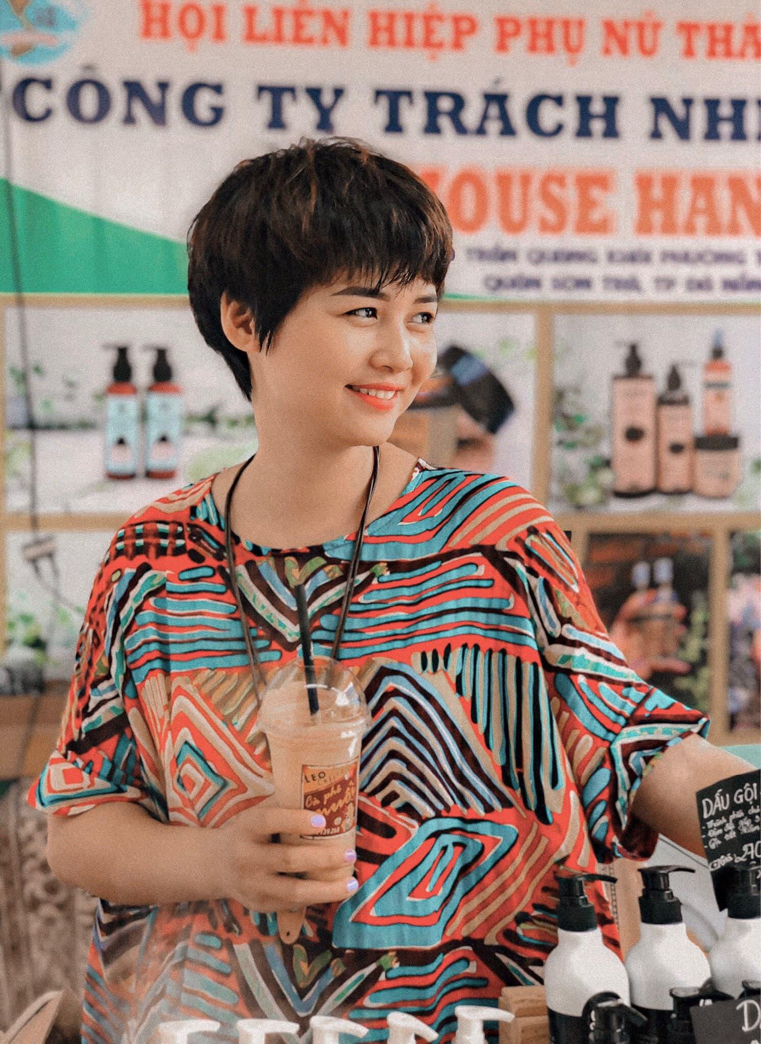 Cô nàng xứ Quảng lấn sang sân kinh doanh mới: Cà phê muối Leo 3