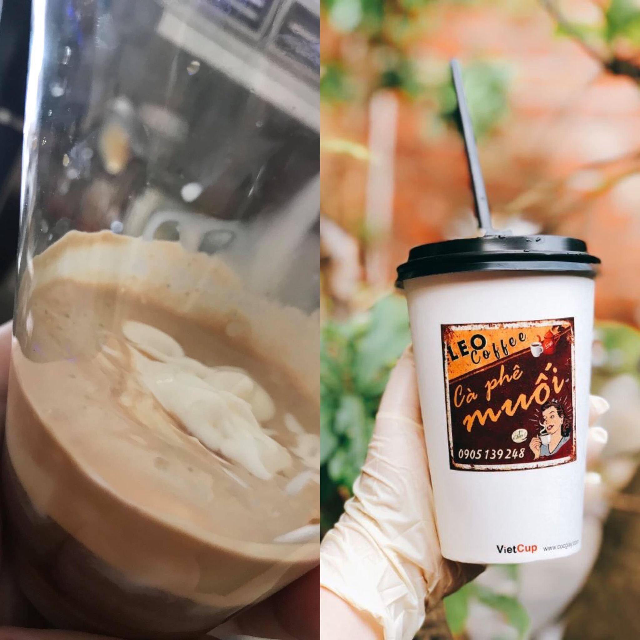 Cô nàng xứ Quảng lấn sang sân kinh doanh mới: Cà phê muối Leo 5