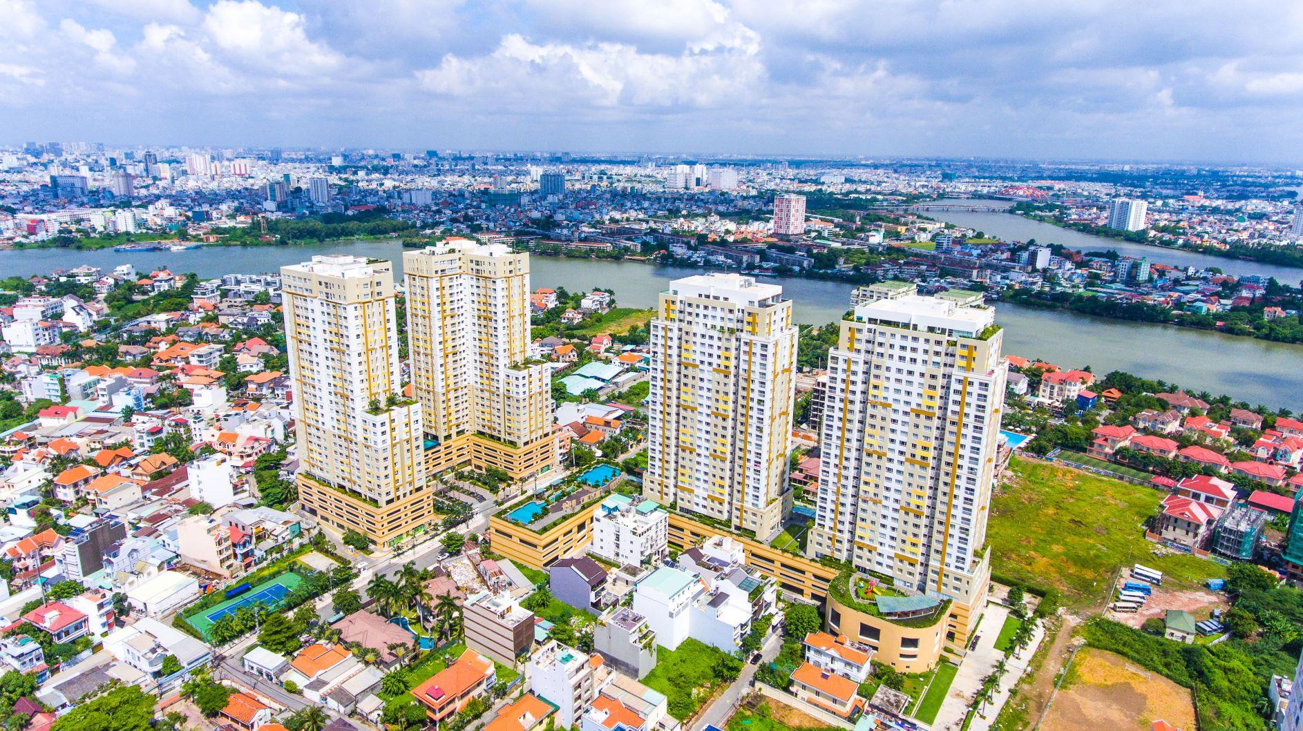 """Dự án căn hộ Tropic Garden Quận 2 là một trong các dự án được Sở TN-MT TP.HCM trao """"sổ hồng tượng trưng"""". Ảnh: Internet"""