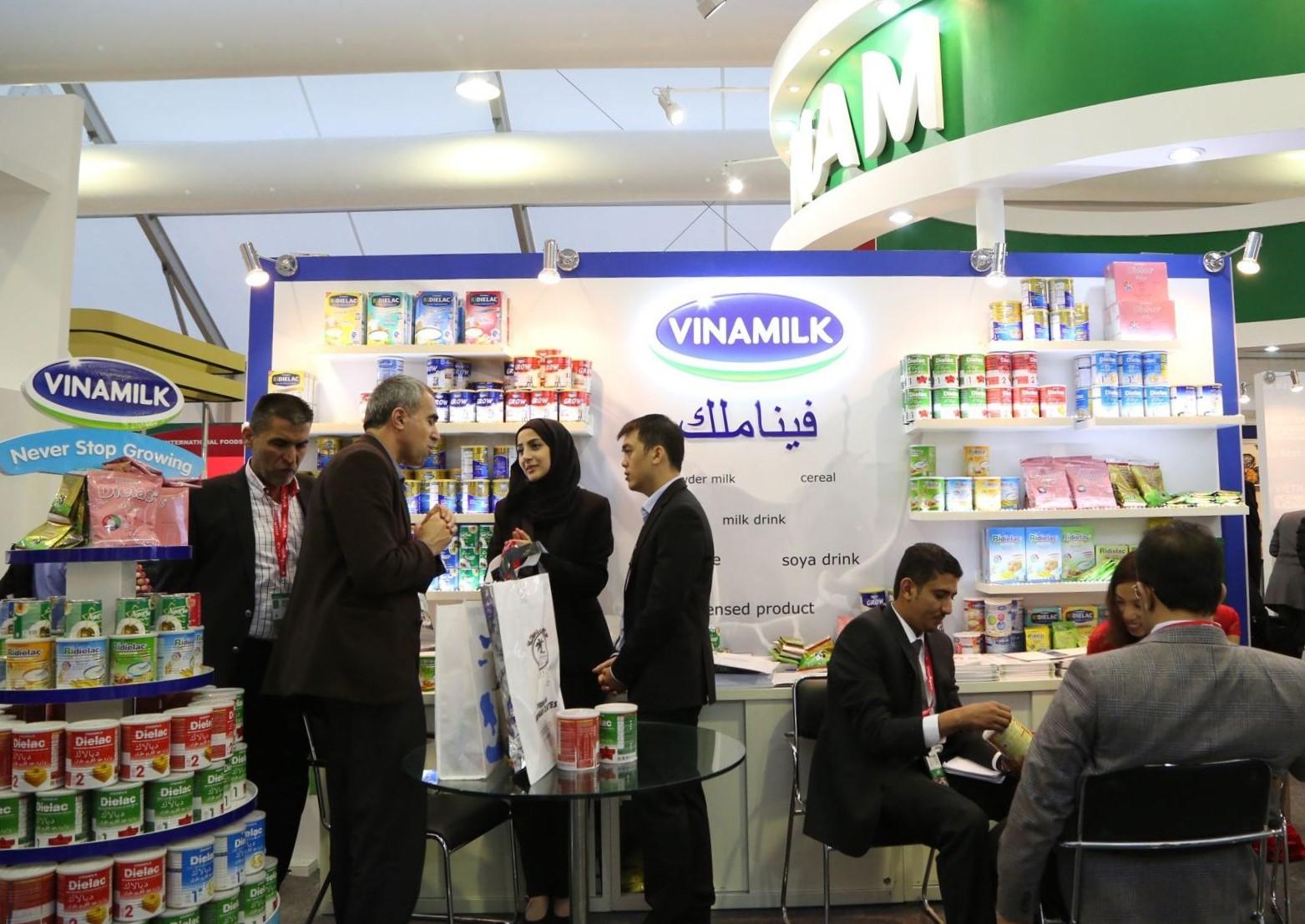 Là thương hiệu quốc gia, Vinamilk luôn tạo được sự ấn tượng về hình ảnh thương hiệu khi tham gia các Hội chợ, Triển lãm quốc tế 2020