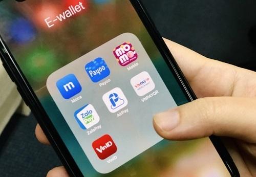 Một số ứng dụng ví điện tử tại Việt Nam. Ảnh: VnExpress