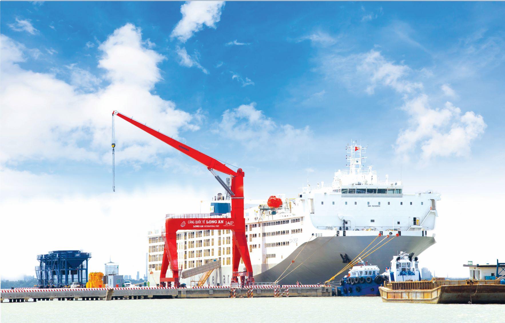 Đồng Tâm Group khánh thành giai đoạn 1 và khởi công giai đoạn 2 - Cảng Quốc tế Long An 5