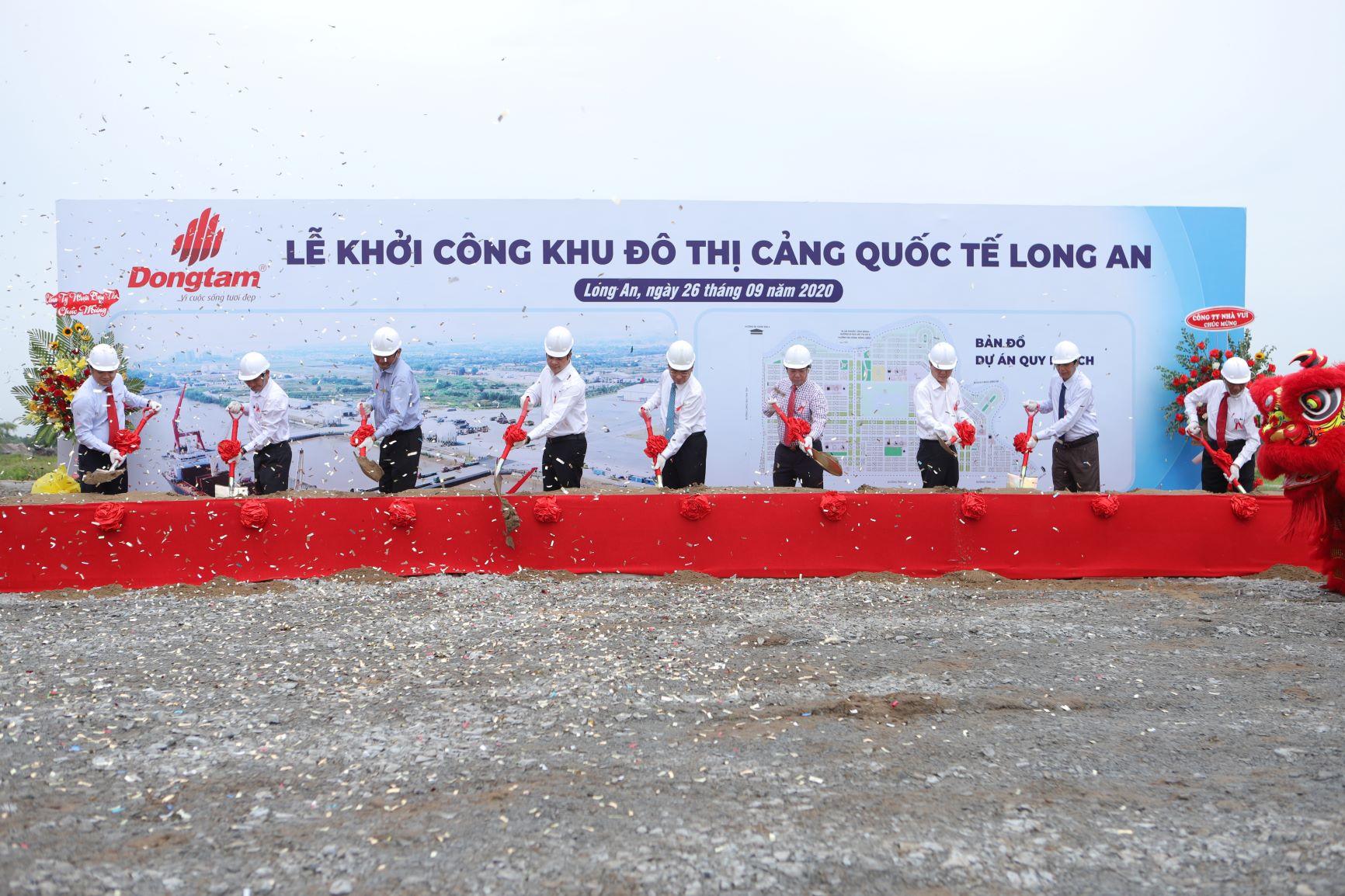 Đồng Tâm Group khánh thành giai đoạn 1 và khởi công giai đoạn 2 - Cảng Quốc tế Long An 1