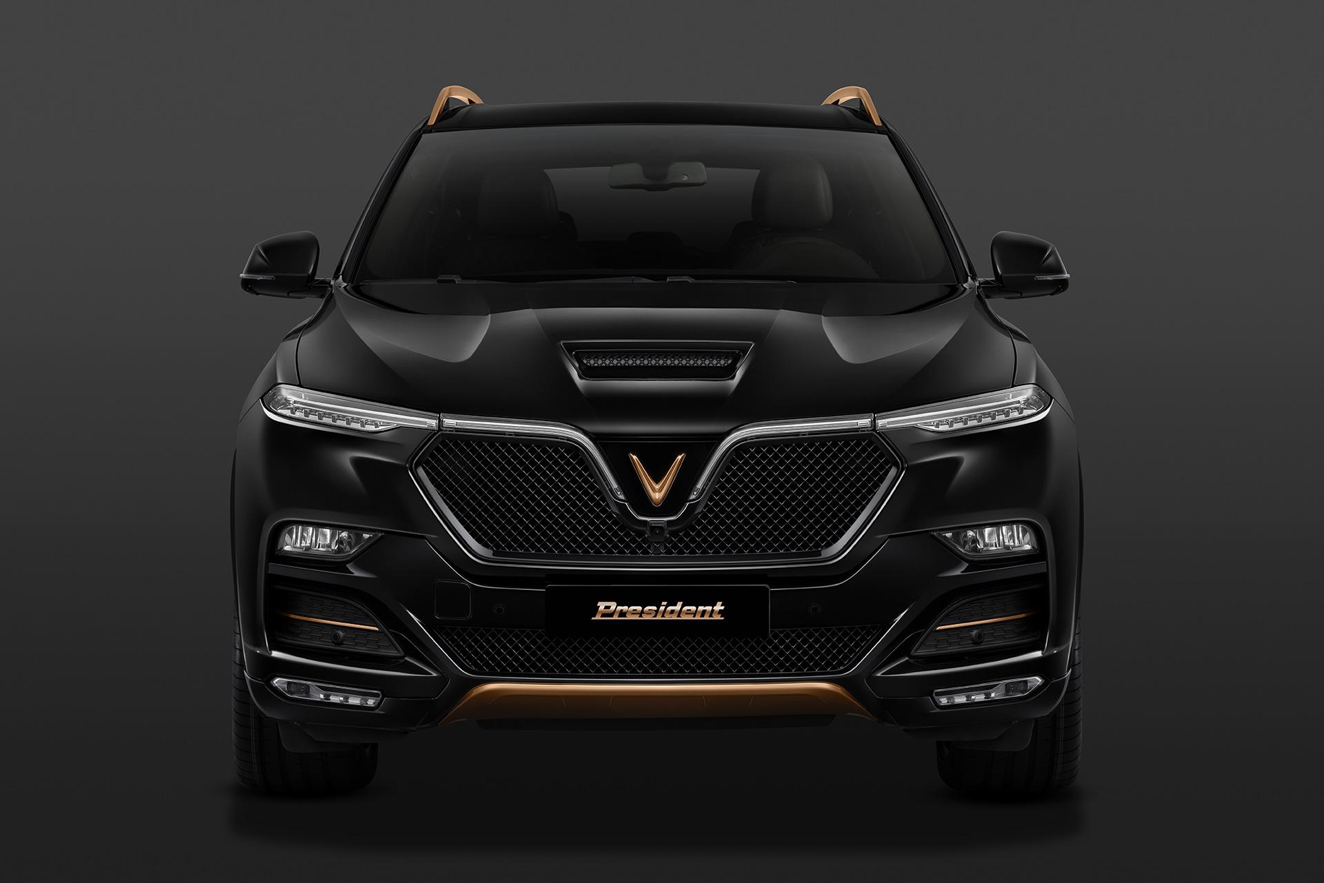 VinFast giới thiệu xe phiên bản giới hạn President 3