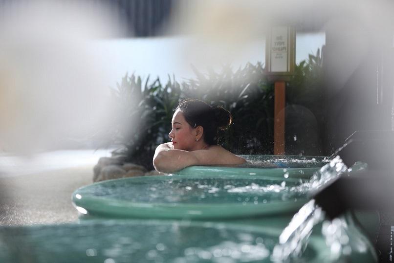 Bên trong khu onsen riêng tư sang chảnh tại Yoko Onsen Quang Hanh 12