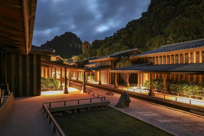 Bên trong khu onsen riêng tư sang chảnh tại Yoko Onsen Quang Hanh 4