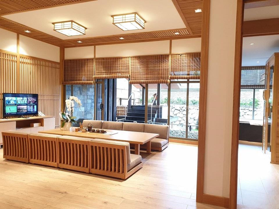 Bên trong khu onsen riêng tư sang chảnh tại Yoko Onsen Quang Hanh 7