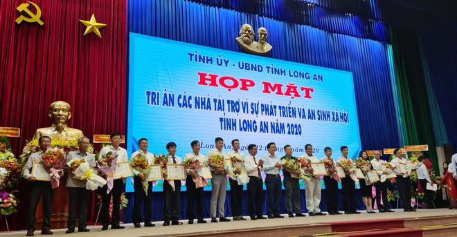 Nguyên Chủ tịch nước Trương Tấn Sang vận động hơn 600 tỉ đồng cho Long An 3