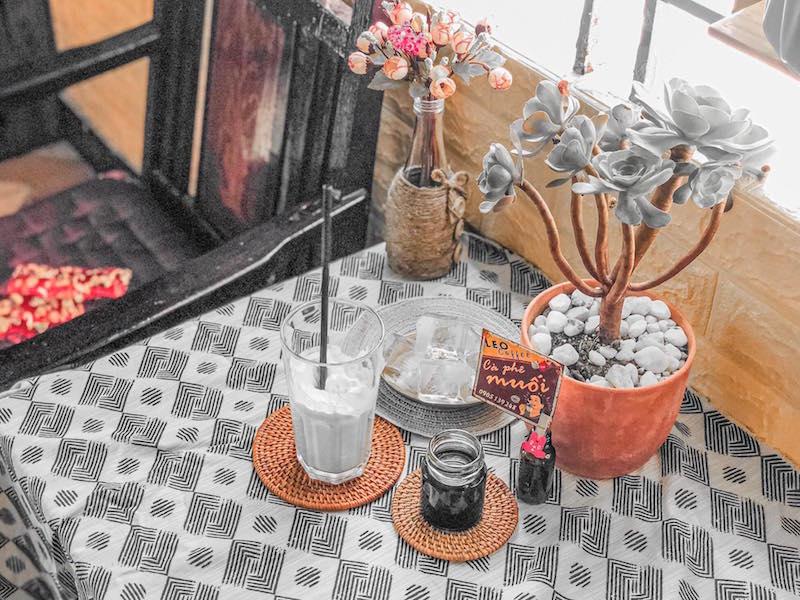Cô nàng xứ Quảng lấn sang sân kinh doanh mới: Cà phê muối Leo 6