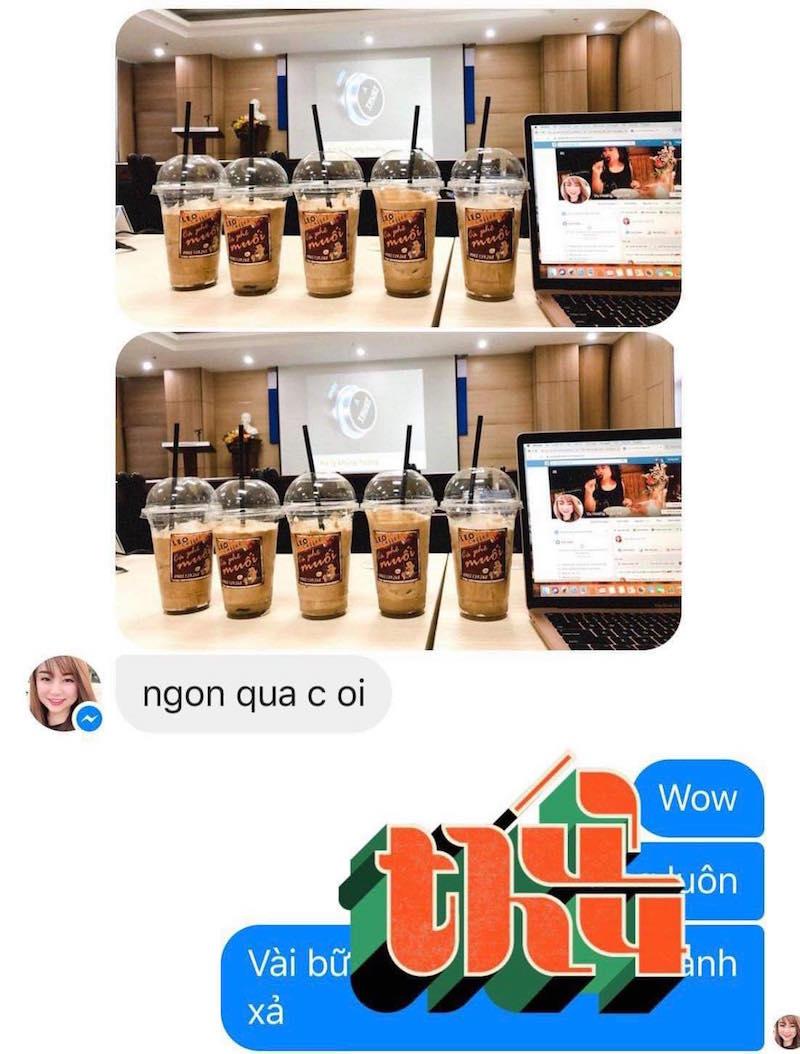 Cô nàng xứ Quảng lấn sang sân kinh doanh mới: Cà phê muối Leo 15