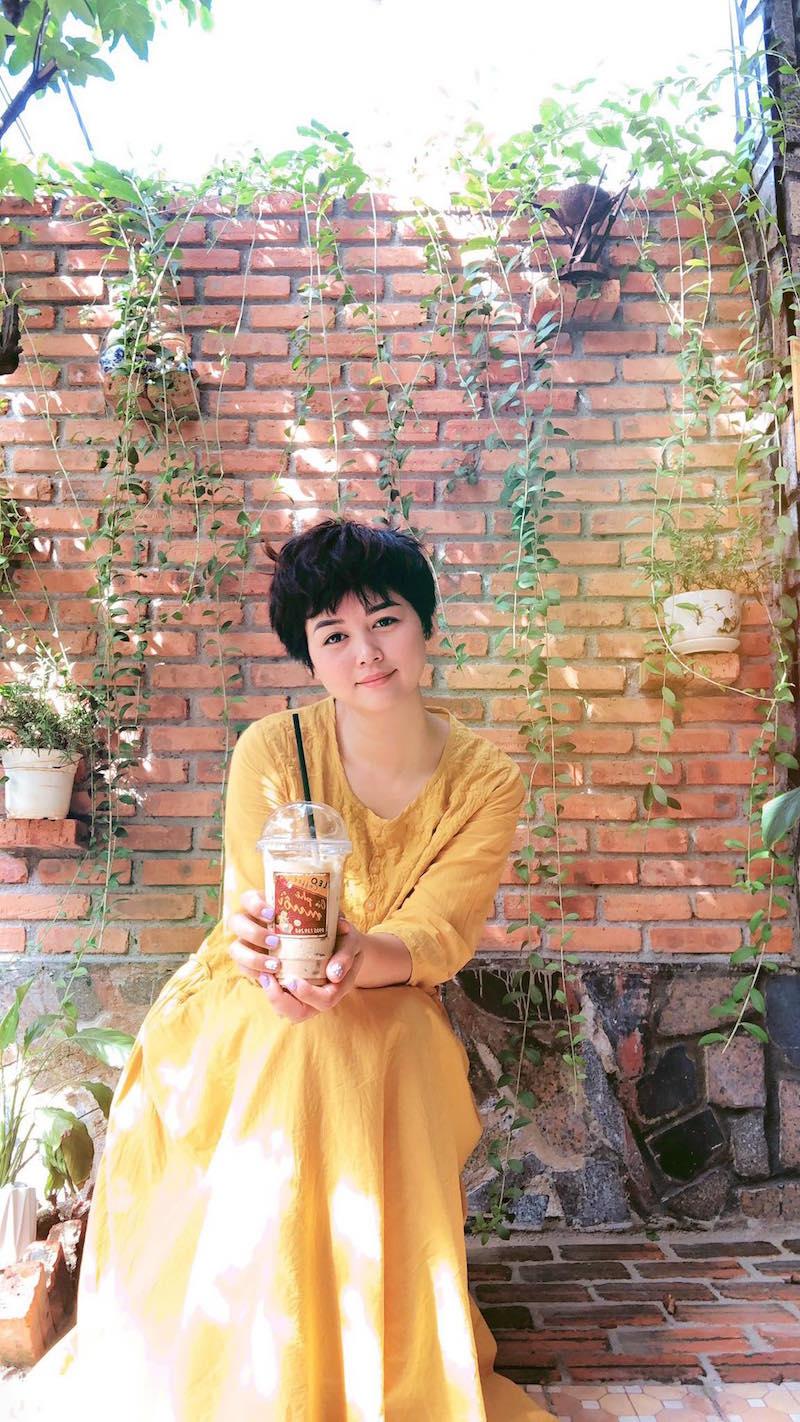 Cô nàng xứ Quảng lấn sang sân kinh doanh mới: Cà phê muối Leo 13