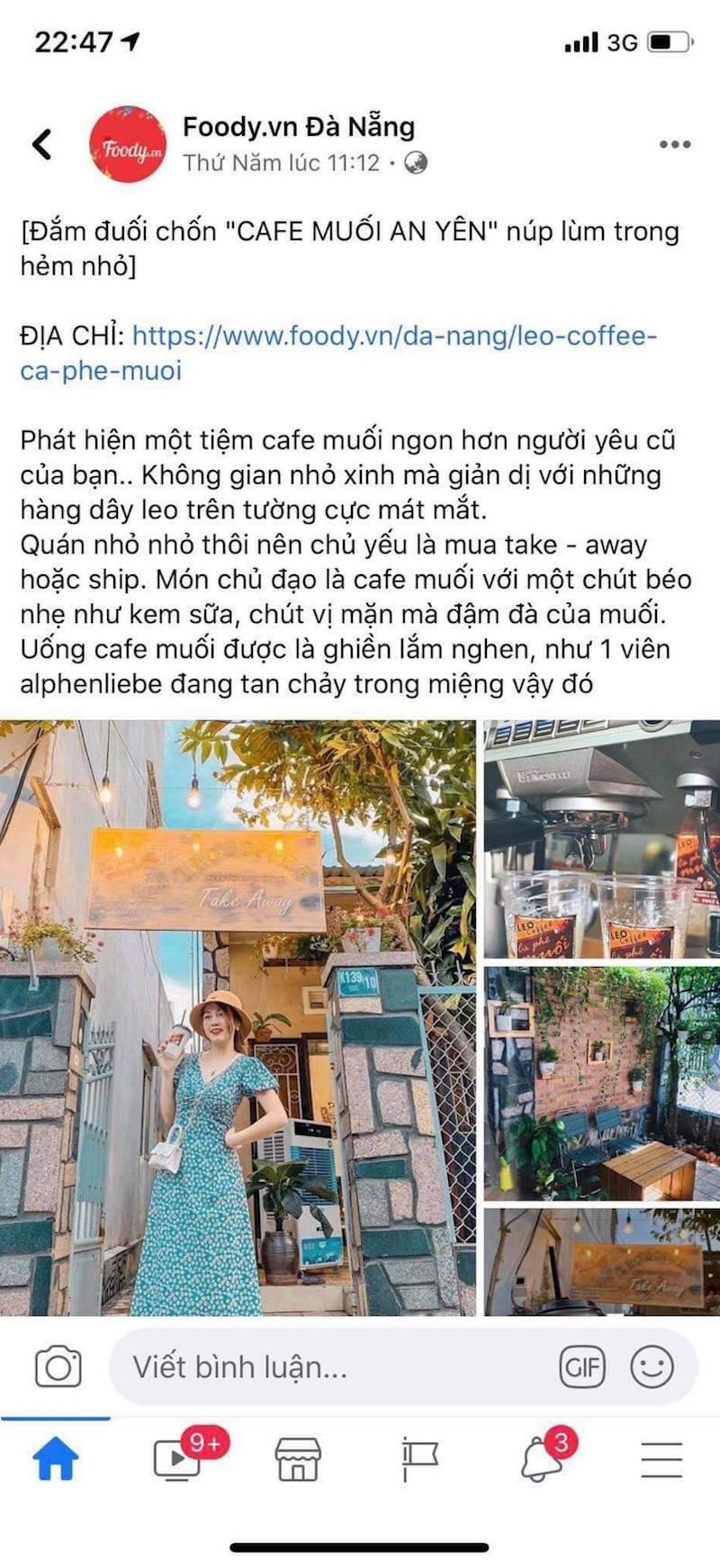 Cô nàng xứ Quảng lấn sang sân kinh doanh mới: Cà phê muối Leo 9
