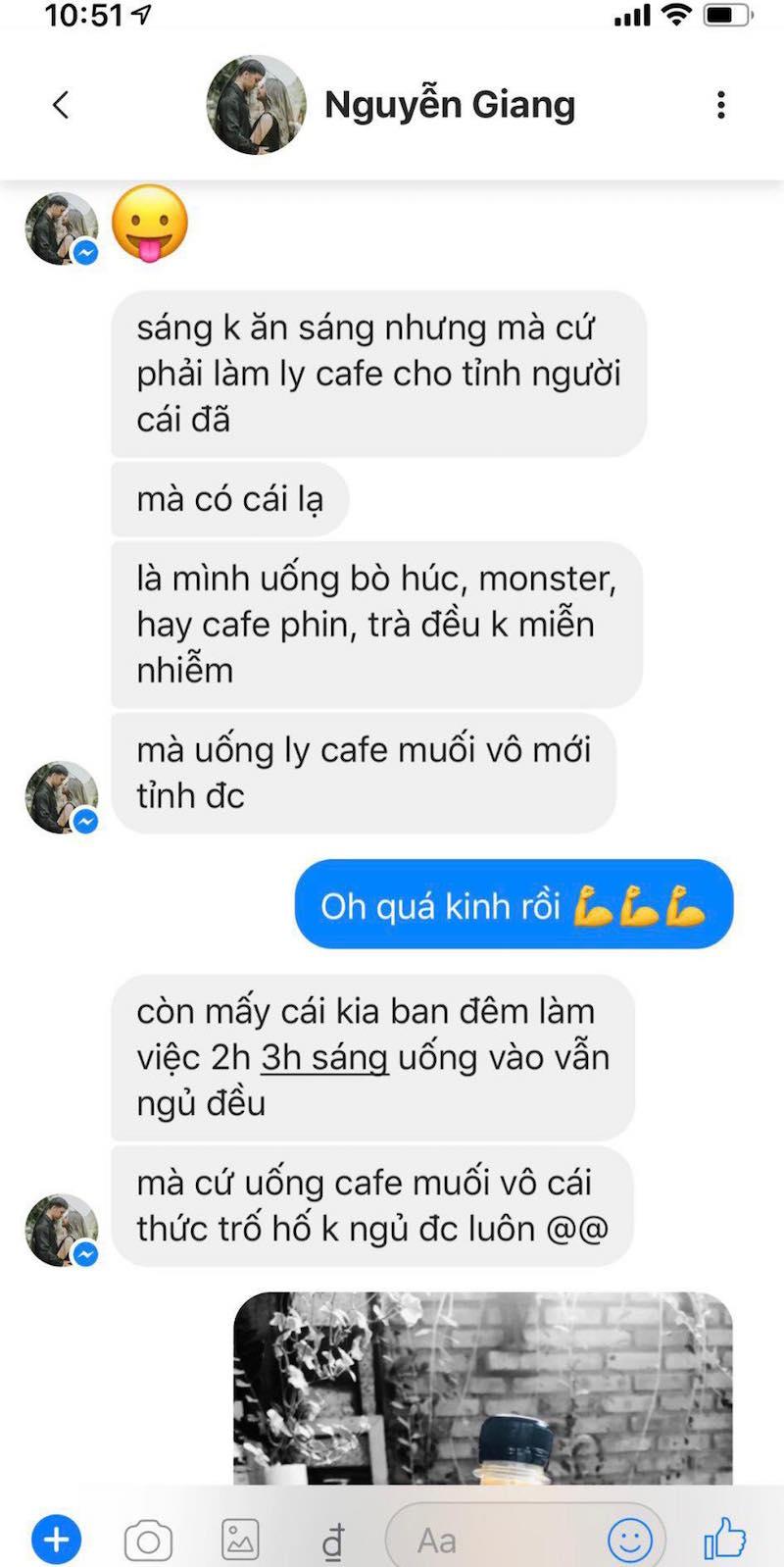Cô nàng xứ Quảng lấn sang sân kinh doanh mới: Cà phê muối Leo 12