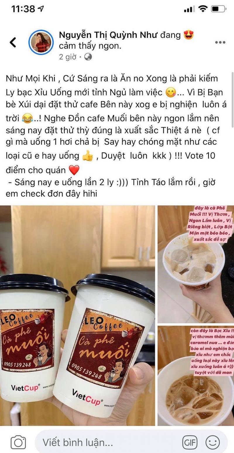 Cô nàng xứ Quảng lấn sang sân kinh doanh mới: Cà phê muối Leo 16