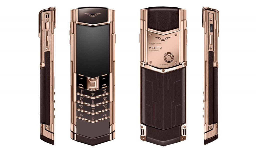Vertu Signature S Rose Gold Bespoke
