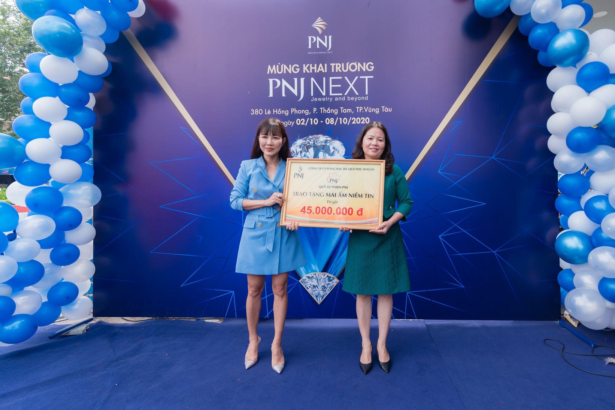 PNJ khai trương cửa hàng Next và Center đầu tiên tại Vũng Tàu 1