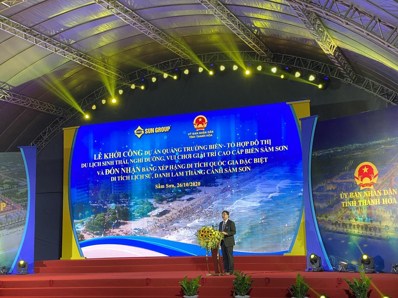 Sun Group khởi công dự án quảng trường biển và tổ hợp đô thị du lịch sinh thái, nghỉ dưỡng, vui chơi giải trí Sầm Sơn hơn 1 tỷ USD 3