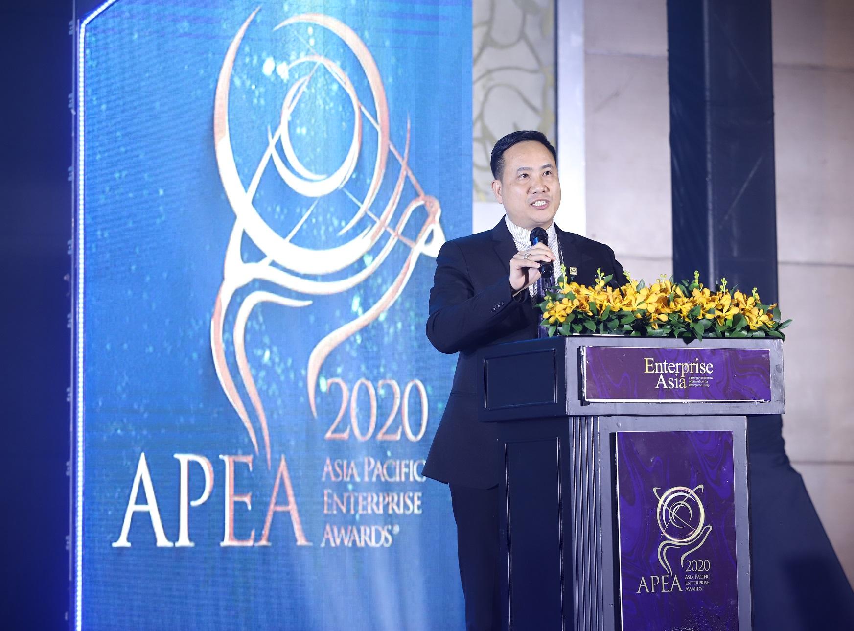 Nam A Bank nhậngiải thưởng Doanh nghiệp xuất sắc Châu Á vàDoanh nghiệp tăng trưởng nhanh 2