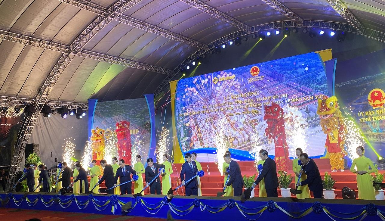 Sun Group khởi công dự án quảng trường biển và tổ hợp đô thị du lịch sinh thái, nghỉ dưỡng, vui chơi giải trí Sầm Sơn hơn 1 tỷ USD 1