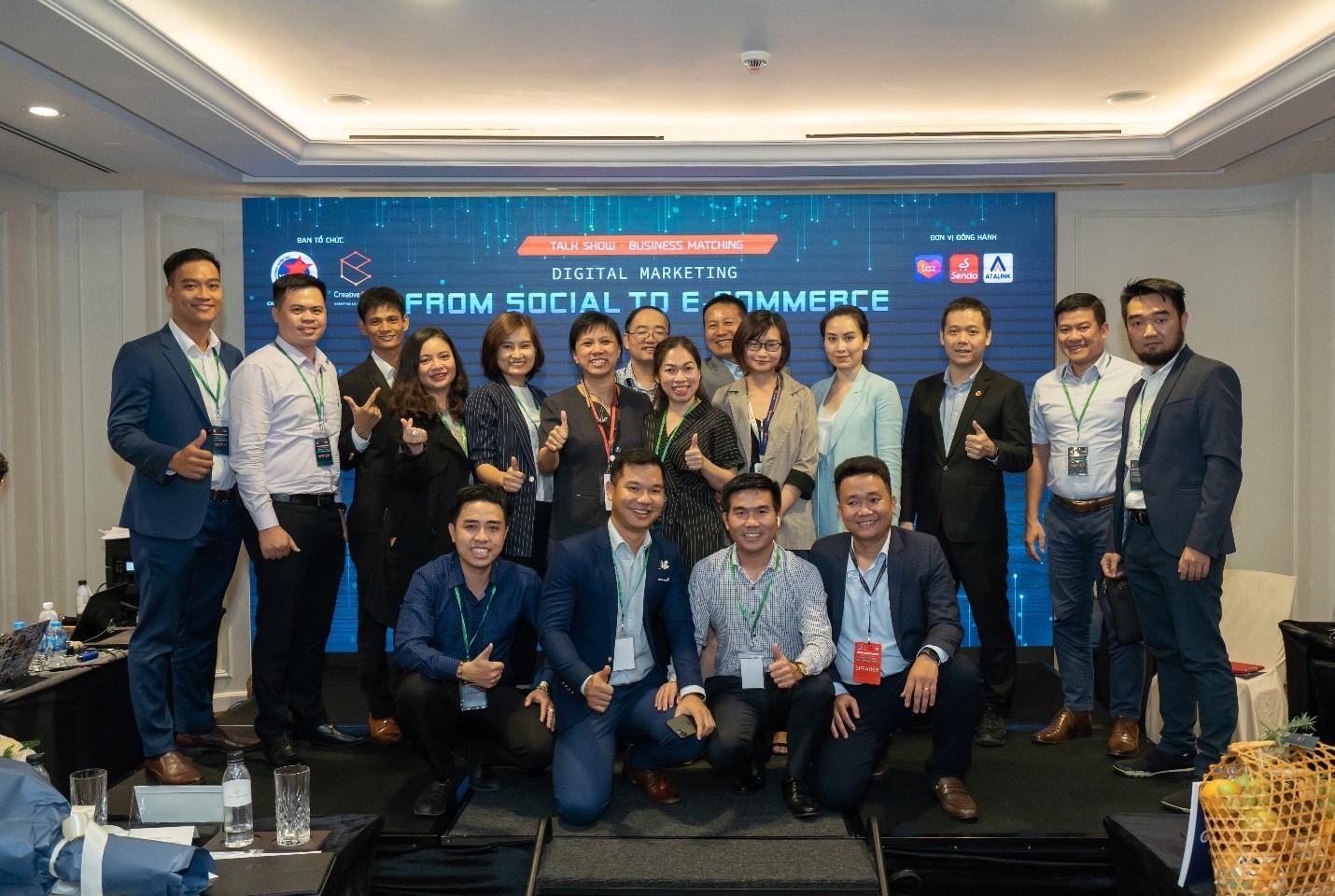 Buổi tọa đàm - kết nối doanh nghiệp: Giải pháp cho bài toán ứng dụng Marketing kỹ thuật số vào kinh doanh 6