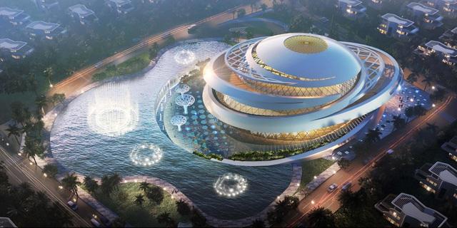 Tiện ích dự án được quy tụ trong những công trình với thiết kế ấn tượng, đầy chất nghệ thuật lần đầu tiên xuất hiện tại Việt Nam.