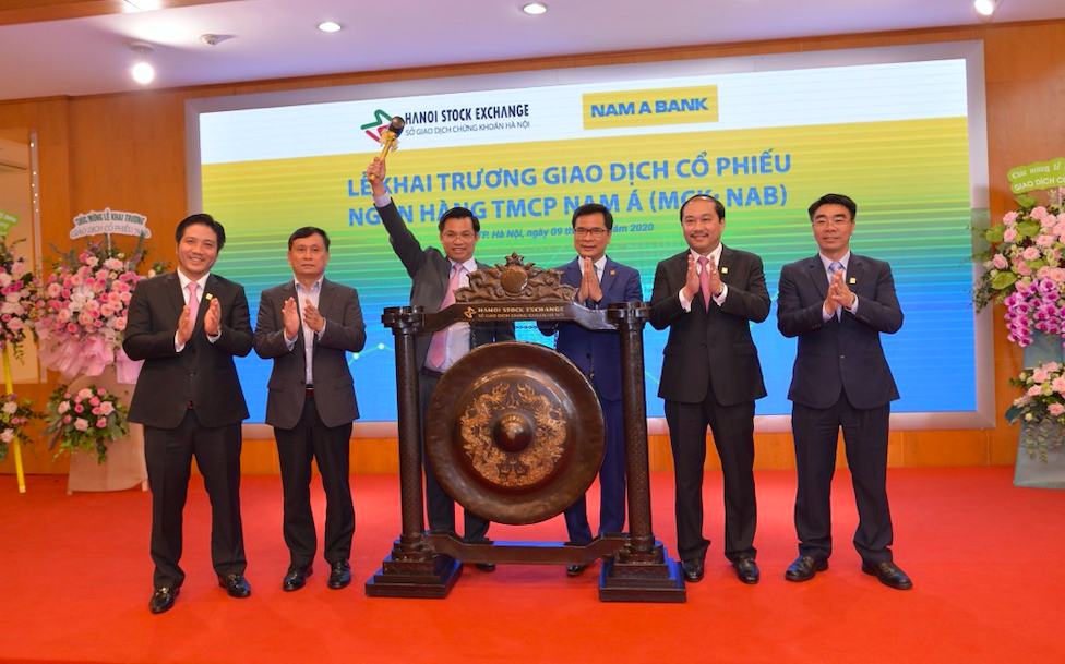 Hôm nay 09/10, hơn 389 triệu cổ phiếu Nam A Bank chính thức lên sàn UPCoM 1