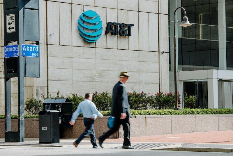 Sảnh trụ sở AT&T tại Dallas, Mỹ - nơi thực hiện những bài kiểm thử thực tế của những thiết bị điện thoại mới trước khi ra mắt.